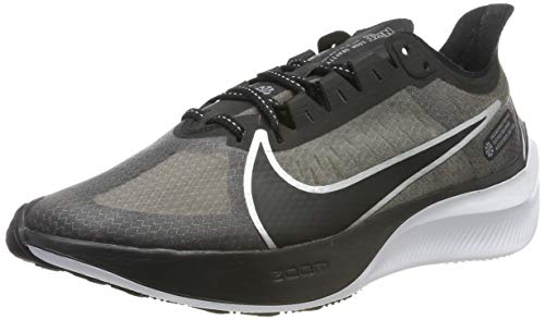 Nike Zoom Gravity, Zapatillas de Running para Hombre, Negro (Black/Mtlc Silver/Wolf White/Cool Grey 001), 43 EU