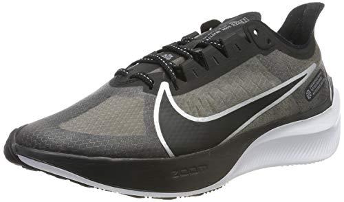 Nike Zoom Gravity, Zapatillas de Running para Hombre, Negro (Black/Mtlc Silver/Wolf Grey/White/Cool Grey 001), 44.5 EU