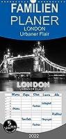 LONDON Urbaner Flair - Familienplaner hoch (Wandkalender 2022 , 21 cm x 45 cm, hoch): Impressionen aus der Themse-Metropole (Monatskalender, 14 Seiten )