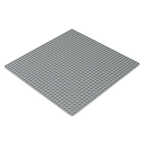 Katara 1672 Plaque De Base Compatible Avec Lego, Sluban, Papimax, Q-Bricks - 32*32 Goujons, Gris Clair