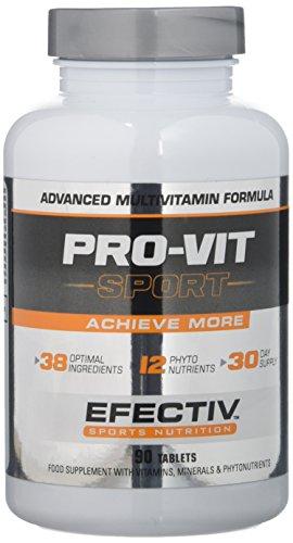 Efectiv Sports Nutrition Pro-VIT Sport Multivitamins Tablets - Pack of 90