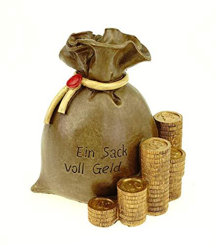 Udo Schmidt GmbH & Co. KG Spardose Geldsack EIN Sack voller Geld 14 cm Polyresin Sparschwein
