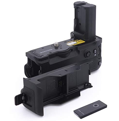 PATONA 1920 Batteriegriff - Ersatz für Sony VG-C3EM Hochformatgriff - mit Fernbedienung (verwendet Akku NP-FZ100 2X)