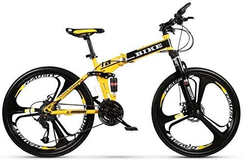 -Foldable Montaña 24/26 Pulgadas, MTB de la Bicicleta con 3 Cortador de...