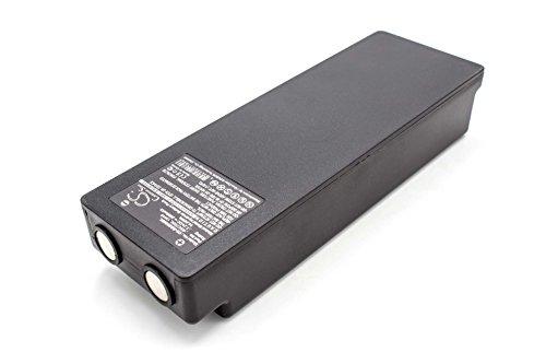 vhbw NiMH Akku 2000mAh (7.2V) passend für Kran-Fernbedienung Remote Control Palfinger Scanreco 590, 592, 790, 960, BS590, Cifa, EA2512, EEA2512, Effer