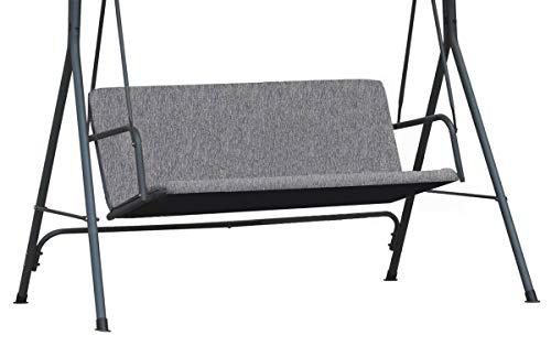 Ferocity Universale Abdeckung für die Sitze der Hollywoodschaukel Garten-Schaukel Sitzpolsterbezug Sitzbezug Sitzflachenbezug Schaukelauflage Größe 100 x 138 Flachs [101]
