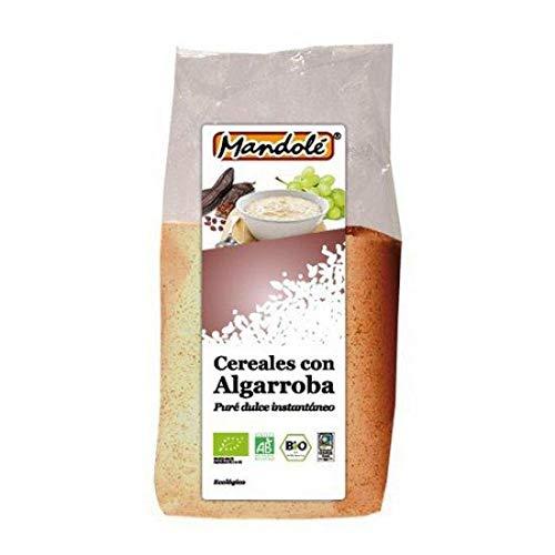 Papilla cereales y algarroba Bio Mandolé 300 g
