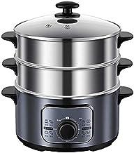 DYB Pot à Vapeur électrique à Trois Couches ménager cuiseur à Vapeur Automatique à Vapeur électrique cuiseur à Vapeur à Va...