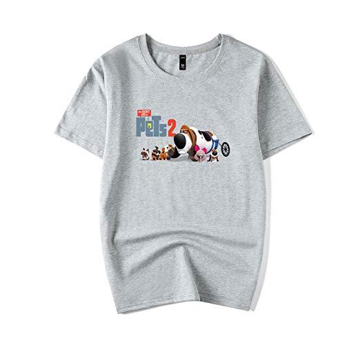 The Secret Life of Pets Backpack Mens Elegant Crewneck Short Sleeve Crewneck T-Shirt Loose Cotton Short Sleeve Tshirt Loose Casual Short Sleeve T Shirt Casual Tunics Short Sleeve Top Basic Short Sleev