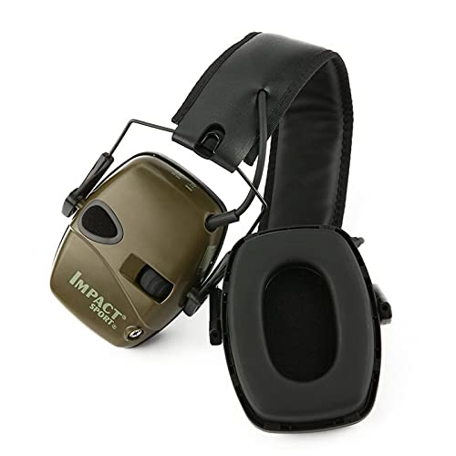 Oqqo Orejeras de Disparo, protección auditiva para Disparos electrónicos, Auriculares tácticos para Juegos, Auriculares para Juegos tácticos de Caza