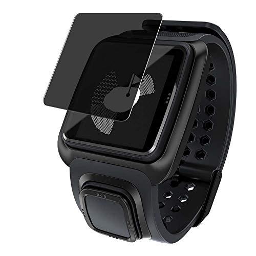 Vaxson Anti Spy Schutzfolie, kompatibel mit TomTom Golfer GPS Watch smartwatch Smart Watch, Displayschutzfolie Bildschirmschutz Privatsphäre Schützen [nicht Panzerglas]