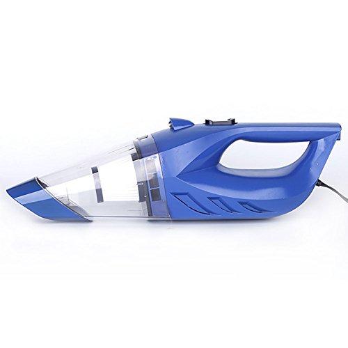 12V Portatif Aspirateur De Voiture Multifonction LED Pompe À Air Cinq-En-Un Haute Puissance Sec Et Humide Universel,Blue