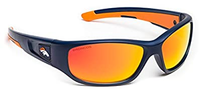 Officially Licensed NFL Eyewear Performance Sport Sunglasses - Kids series fits age 7-10