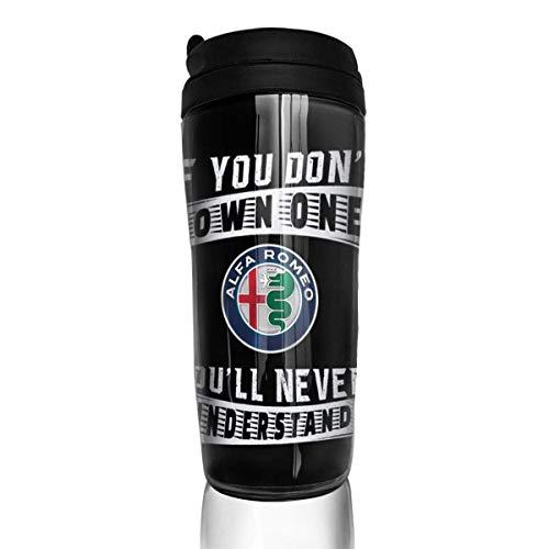 Wasserflasche Cup Travel Mug Kaffeebecher Best Alfa-Romeo Stainless Steel Coffee Cup With Outdoor Travel Sport Pattern Mug
