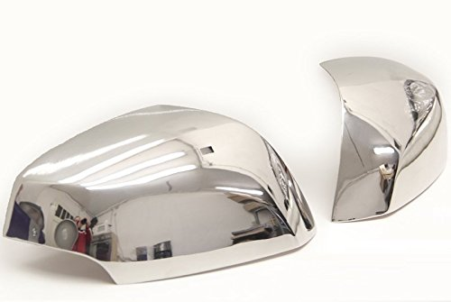 MEGANE III, LAGUNA III, 2008 > Fluence Chrome Miroir Capuchons en acier inoxydable