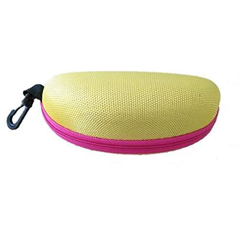 LHYLHY Portátil, resistente a la presión, con cremallera, para gafas de sol, estuche rígido para guardar gafas, funda fuerte y resistente (color estilo 5)