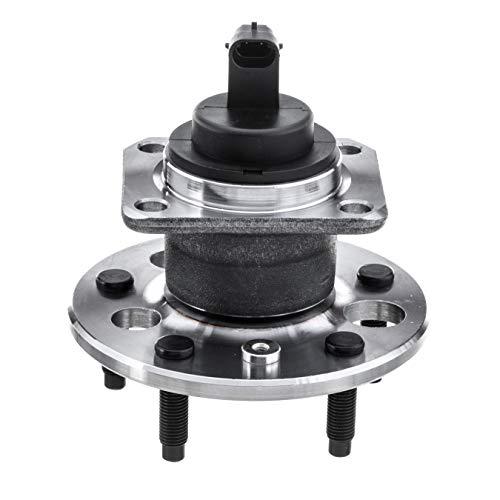 QJZ [1-Pack] 512003 - Rear Wheel Hub Bearing Assembly for [Buick] Lesabre, Lucerme, Park Avenue, Riviera [Cadillac] Allante, Deville, DTS, Eldorado, Seville [Chevy] Malibu [Pontiac] Bonneville, Grand