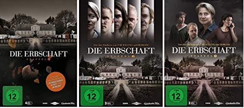 Die Erbschaft - Staffel 1+2+3 im Set - Deutsche Originalware [10 DVDs]