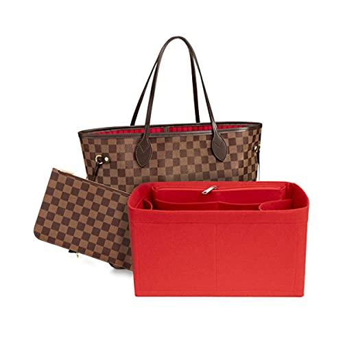 Purse Organizer, Bag Organizer Cosmetic Organizer Travel Cosmetic Bag Sundries Sorting, For Tote & Handbag Speedy Neverfull, Medium Large