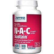 Jarrow Formulas - N-A-C Sustain 600 mg. - 100 Tablets