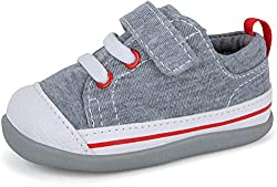 professional See Kai Run, Stevie II Infant Sneakers, Gray Leotard, 3.