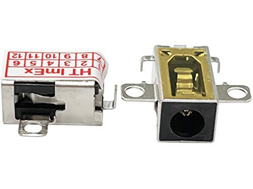 HT ImEx - Conector de alimentación hembra de alimentación DC Jack compatible con Lenovo V155-15API (81V5000CGE), V155-15API (81V5000SGE), V155-15API (81V5001JGE).