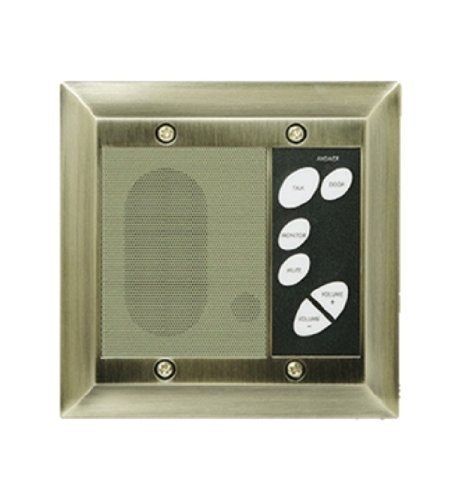 Legrand - On-Q F7641-AB Intercom Patio Unit, Outdoor, Antique Brass