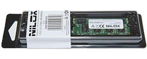 Nilox - Memoria RAM DDR1 SO-DIMM da 1GB, 400MHz, CL3, Color