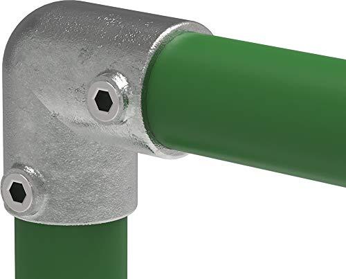 Fenau | Bogen-Stück/Knie-Stück (Rohrverbinder) Rohr-Maße: Ø 33,7 mm / 1