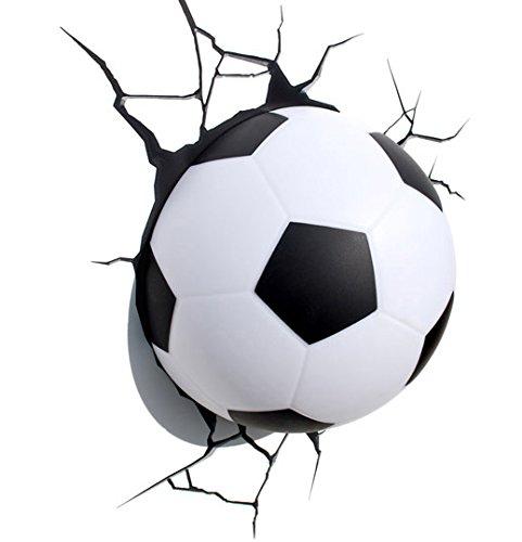 Eurobric 2000 - Lampe Murale 3D Deco Light Ballon Football - 8414834142003