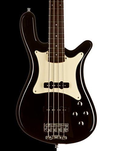 Warwick gps121423pp Ash fr Guitarra WGPS Streamer CV 4, Ash fretted con funda, color negro brillante