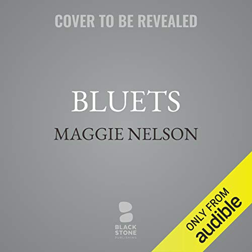 Bluets audiobook cover art
