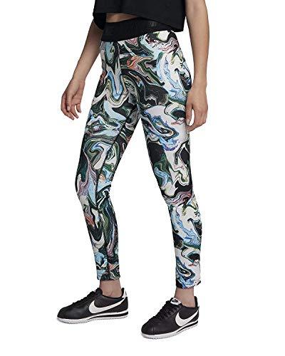 Nike Sportswear Marble High-Waist Leggings (Black, S)
