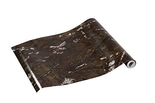 ZADAWERK® zelfklevende folie 0,45 x 5 m marmer donker