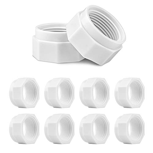 HENMI 8 Pack Pool Cleaner Feed Hose Nut Fits for Polaris 280, 380, 180 Pool Cleaner Feed Hose Nut D15 D-15