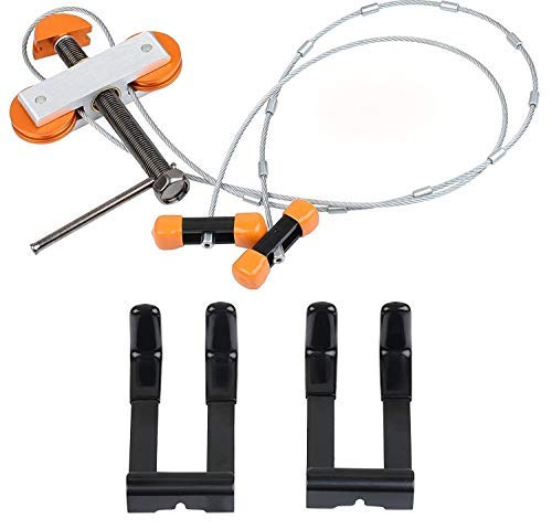 IVEKE Portable Hand Held Bow Press with 2 Quad Brackets for Compound Bow Archery