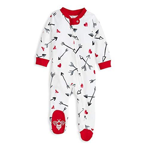 Burt's Bees Baby Baby Sleep & Play, Organic Pajamas, Cupid's Arrow
