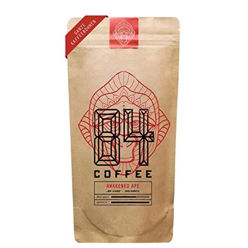 84 Coffee - Vietnamesischer Premium Kaffee - Awakened Ape - Dunkel geröstet - 100% Robusta -fairer & direkter Handel - frisch & schonend geröstet - gemahlener Kaffee (500g - Ganze Bohnen)