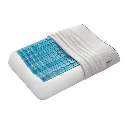 Technogel® Almohada Cervical prémium de 13 cm de Alto con Gel térmico Patentado, Libre de sustancias nocivas y Certificado, ortopédica HWS para Dormir de Espalda y de Lado, 66 x 40 x 13 cm