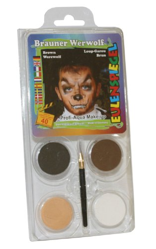 - Wolf Kostüm Gesichts Make Up