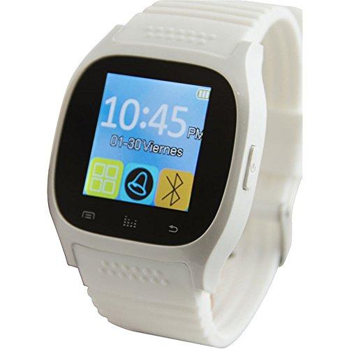 """Ksix BXSW10B - Smartwatch de 1.3"""", Color Blanco"""