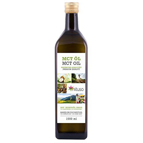 mituso MCT Öl, Premium Qualität, 1er Pack (1x 1000 ml)
