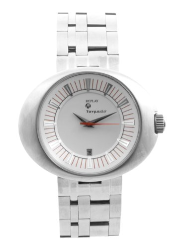 Replay Herren-Armbanduhr XL Analog Edelstahl RM5201BH
