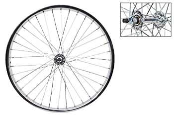 Wheel Master 20  x 1.75 Front Bicycle Wheel 36H Steel Bolt On Silver