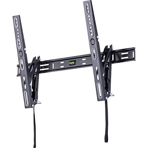 AmazonBasics - Soporte de pared basculante y elevador de perfil bajo, para televisión, de 127 a 215,9 cm (50-85