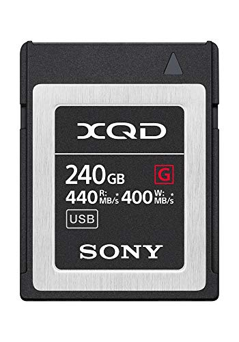 Sony Professional XQD G Series 240GB Memory Card (QD-G240F)