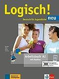 Logisch! neu a2, libro de ejercicios con audio online: Arbeitsbuch A2 + Audios zum Download