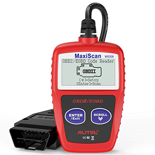 Autel MaxiScan MS309 Universal OBD2 Scanner Engine Light Fault...