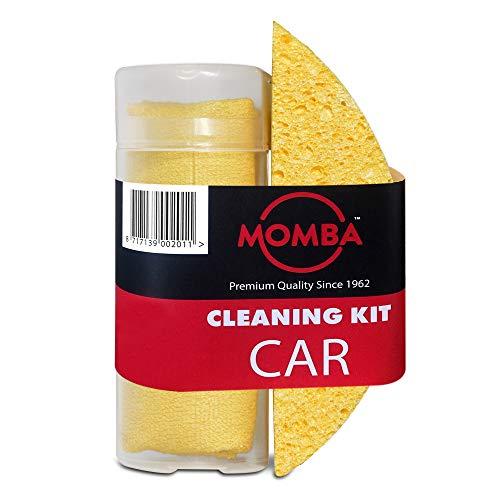 Momba® Kit de Limpieza del Coche 2 Piezas – Incluye una Esponja...