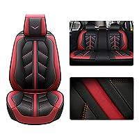フォルクスワーゲンゴルフフロントリアオートラグジュアリーレザースポーツシートクッション用カーシートカバーエアバッグ対応カーシートデコレーション5人乗り